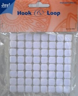 Joy! Crafts - Hook en Loop - Klittenband Vierkant