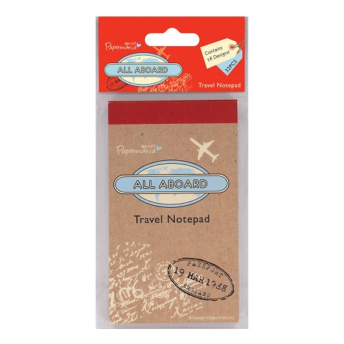 Travel Notepad - All Aboard
