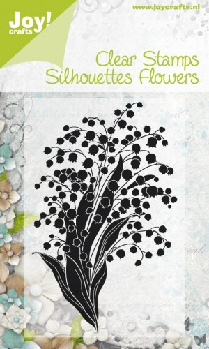 Joy! Crafts - Clearstamp - Silhouettes Flowers nr 2