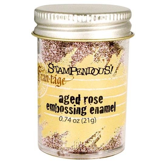 Stampendous Fran-táge - Embossing Enamel - Rose