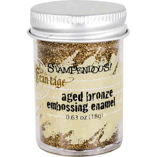 Stampendous Fran-táge - Embossing Enamel - Bronze