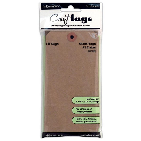 Inkssentials - Giant Kraft Craft Tags