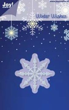 Noor! Design - Winter Wishes - IJskristal 1 50 mm stencil