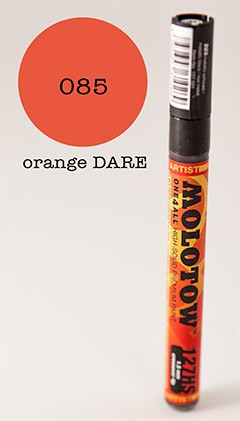 Molotow Marker 127HS - Dare Orange - 1,5mm Crossover