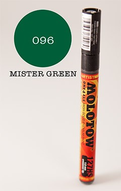 Molotow Marker 127HS - Mr. Green - 1,5mm Crossover
