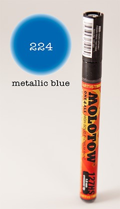 Molotow Marker 127HS - Metallic Blue - 1,5mm Crossover