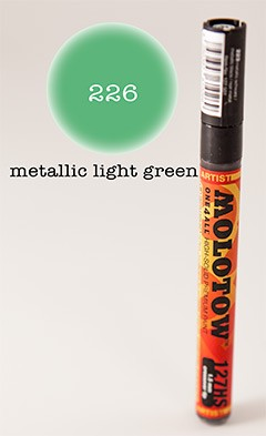Molotow Marker 127HS - Metallic Green - 1,5mm Crossover