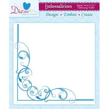 "Crafter`s Companion - Embossalicious - Regal Corner 6"" x 6"""
