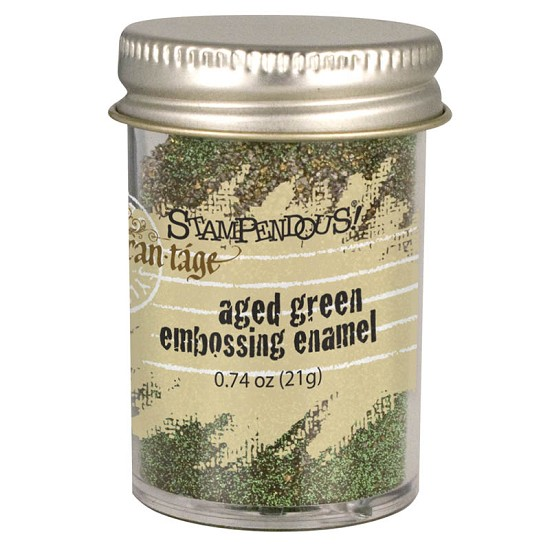 Stampendous Fran-táge - Embossing Enamel - Aged Green