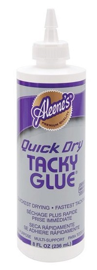 Aleene`s - Quick Dry Tacky Glue - 8 ounces