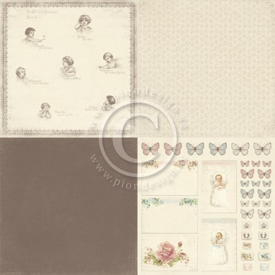 "Pion Design - Sweet Baby 6"" x 6"" - Week day prophecies"