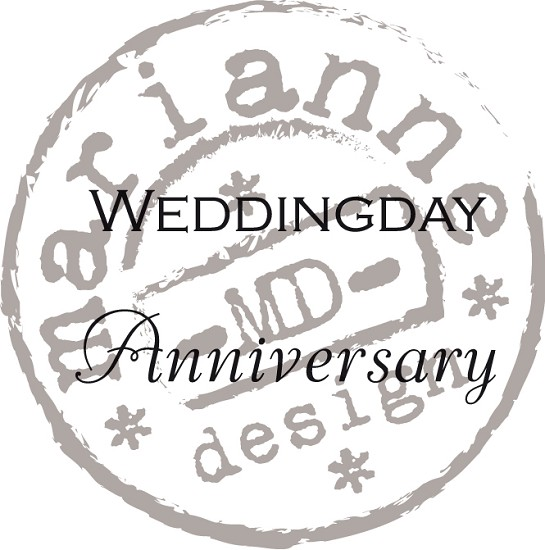 MD Clear Stamp - Weddingday / Anniversary