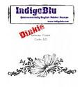 IndigoBlu - Rubber Stamp - A7 Anemone Corner
