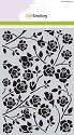 Mask Stencil A5 - CraftEmotions - Botanical Rozen