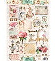 Studio Light - Stap voor stap A4 - Shabby Chic nr 1297