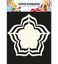 Dutch Doobadoo - Dutch Shape Art - Rose