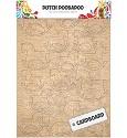 Dutch Doobadoo - Cardboard Art - Rocking Horse