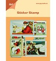 Joy! Crafts - Sticker Stamps / Postzegels - 6