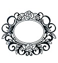 Stamp - Creative Expressions - Singles - Bouquet Frame