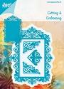 Noor! Design - Blauwe mal - Frame   3 hoekjes