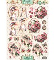 A4 Stansvel Shabby Chic - Easy 3D Stansvel nr.401