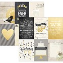 Scrappapier - Simple Stories - The Story of Us - 4x6 Vertical Journaling Card Elements