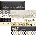 Scrappapier - Simple Stories - The Story of Us - 2x12 Borders & 4x12 Title Strip Elements