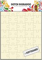 Dutch Doobadoo - Softboard Art A5 - Puzzle