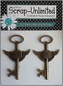 Scrap Unlimited - Steampunk Charms - Sleutels