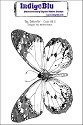 IndigoBlu - Rubber Stamp - A6 Big Butterfly