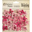 Darjeeling - Petaloo Flowers - Mini Blossoms Fuchsia