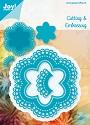 Noor! Design - Blauwe mal - 6punt stencil