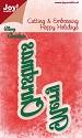 Noor! Design - Happy Holidays - Merry Christmas tekst
