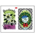 Clear Stamp - Viva Decor - Christmas Rose & Landscape