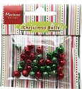 Marianne Design - Christmas bells red/green