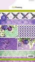 Paperpad CraftEmotions - Purple Holidays A5