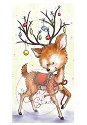 Clear stamp - Wild Rose Studio`s - Reindeer with Baubles