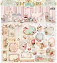 Studio Light - Pakket met 14 Gestanste doosjes + labels - Shabby Chic