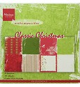 Marianne Design - Paperpad 15 x 15 cm - Classic Christmas