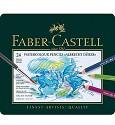 Faber Castell - Albrecht Dürer - Aquarelpotloden metalen etui 24 stuks