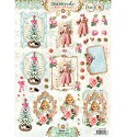 Studio Light - Stansvel A4 - Shabby Chic - Winter Christmas nr. 433