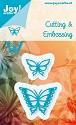 Noor! Design - Blauwe mal - 2 vlinder