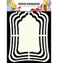 Dutch Doobadoo - Dutch Shape Art - Label Mirror