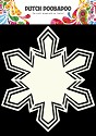 Dutch Doobadoo - Dutch Shape Art - Snowstar