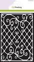 Mask stencil - CraftEmotions - High Tea Rose - Sierhek A5