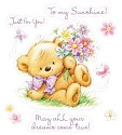 Clearstamp ScrapBerry`s - My Little Bear - With Flowers