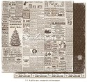 Scrappapier Maja Design - A Gift for You - Wrapped in Old Newspaper
