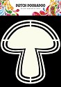 Dutch Doobadoo - Dutch Shape Art - Mushroom