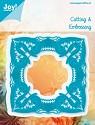 Noor! Design - Cutting & Embossing stencil -  Blauwe mal - Frame elegant