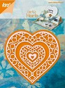 Joy! Crafts - Cutting & Embossing stencil - Gerti`s Hearts (3st)